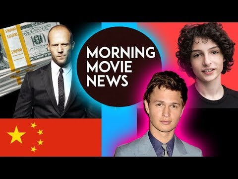 Jason Statham loves China with The Meg & STX, Finn Wolfhard joins Ansel Elgort's The Goldfinch
