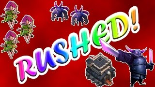 Clash of Clans | HOW TO 3 STAR WITH GOWIPE! | RUSHED BASES & FAILS | #046
