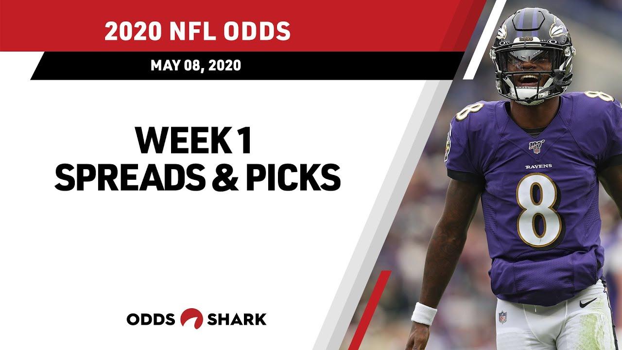 betting line nfl week 1 2021