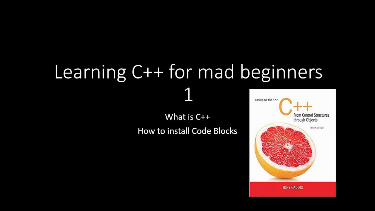 Learning C For Mad Beginners 1 C The Simplest Way To