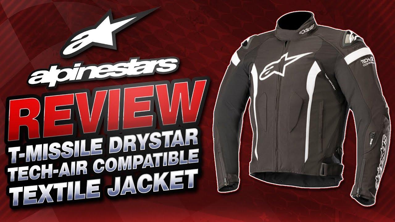 Alpinestars T Missile Drystar Tech Air Compatible Jacket