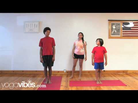 Kids Yoga Game: Warrior II (Virabhadrasana II) & Warrior III (Virabhadrasana III)