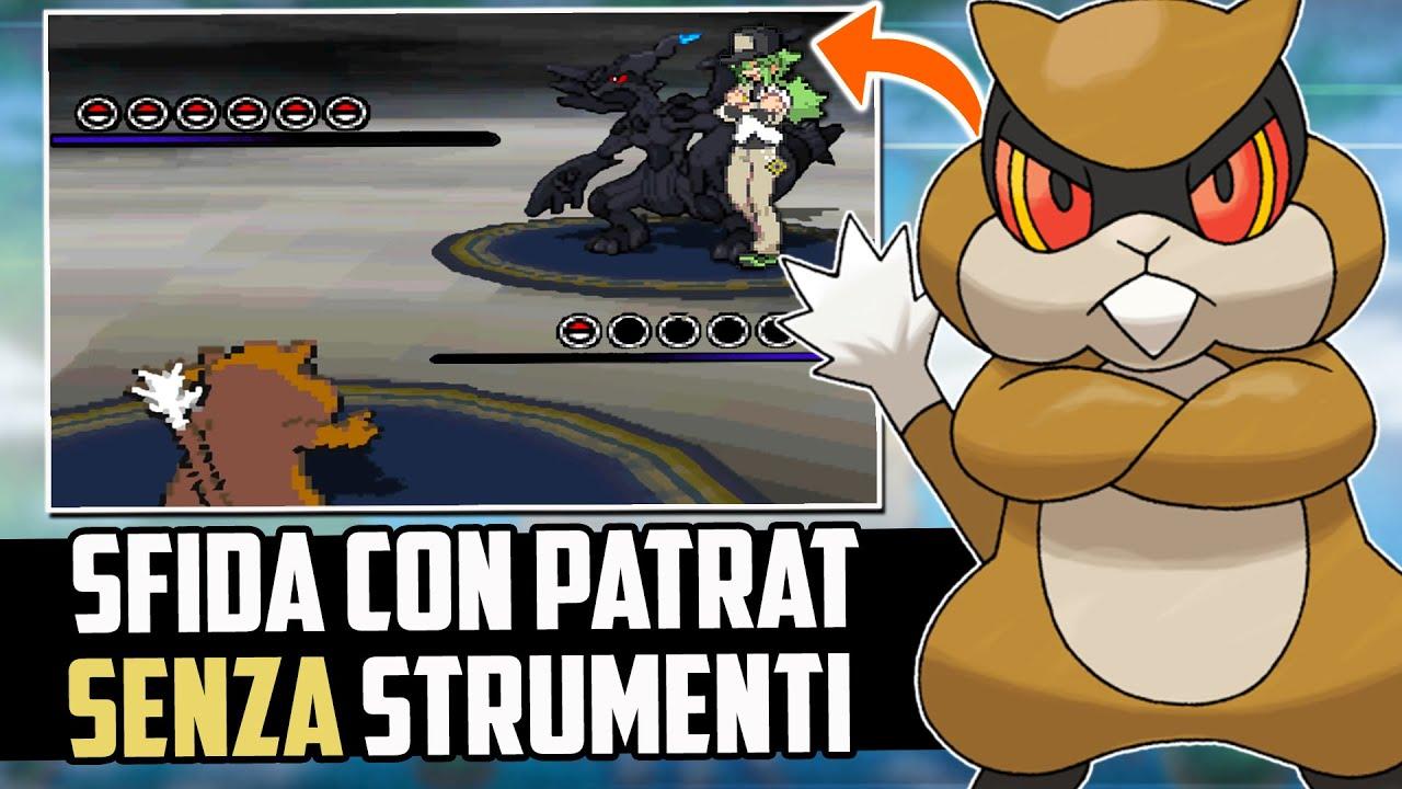 Puoi FINIRE Pokémon NERO e BIANCO SOLO con PATRAT e SENZA STRUMENTI?! - Pokémon Challenge