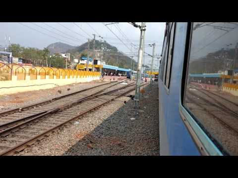 Sec-Bza Intercity super fast express entering Vijayawada