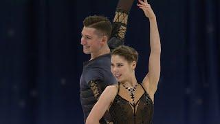 Анастасия Мишина Александр Галлямов Короткая программа Пары Чемпионат мира по фигурному катанию