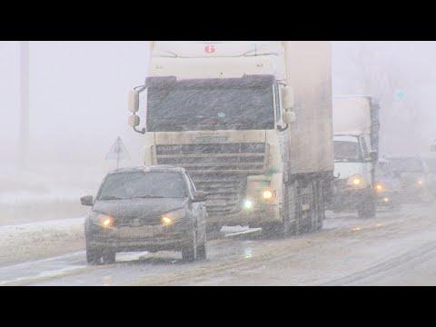 Волгоградская область пережила самый мощный снегопад с начала зимы