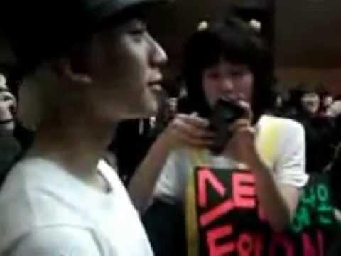 [FANCAM] 120318 Gongchan w/ BANAS in SingSing Sandeul Day!