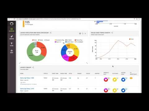 ReportPortal test automation analytics platform and real