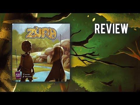 Zura (Agie Games) / Review / Regelerklärung + Fazit / Spiel'18 Neuheit!