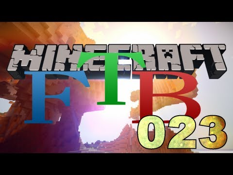 Minecraft - Feed The Beast #23 - Mining Turtle Hat Nen MEGA Tunnel Gebuddelt
