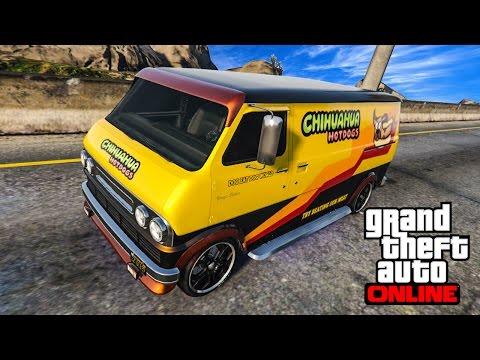 Grand Theft Auto 5 Multiplayer - Part 212 - แต่งรถตู้สุดคลาสสิคขายฮอทดอก