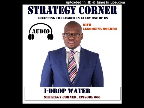 How I-Drop Water provides safe drinking water to under privileged communities with James Steere