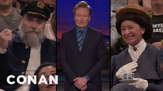 Conan Doesn't Want Any Characters In The Audience Tonight  - CONAN on TBS