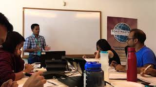 Bring Game theory to life - Toastmasters