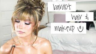 Brigitte Bardot Makeup & Hair Tutorial ブリジットバルドー 検索動画 22