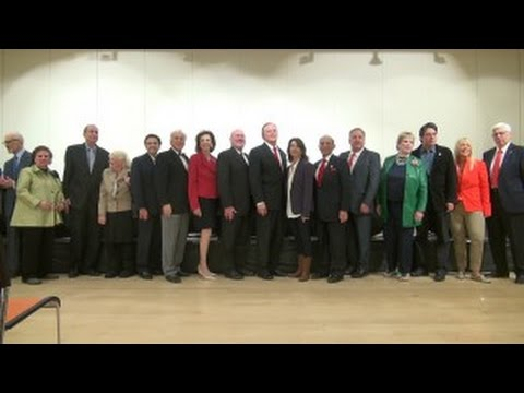 Former Beverly Hills Mayors  2016 Symposium