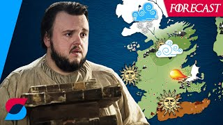 When Samwell Tarly calculated the climate of Westeros