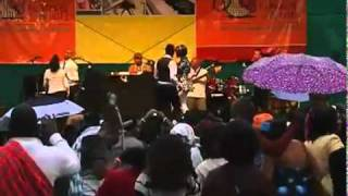 "MAFIKIZOLO performing ""NDIHAMBANAWE"" Live @ Blankets and Wine Concert"
