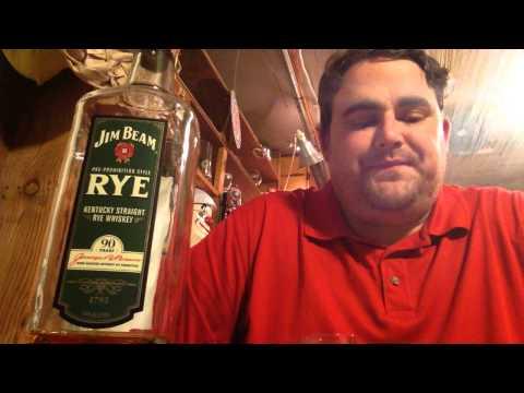 Brown Liquor Reviews - 26 - Jim Beam Kentucky Straight Rye - 45% Abv (90 proof)