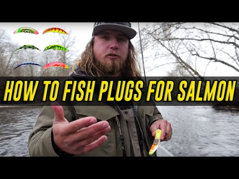 How To Fish Plugs For Salmon In Rivers Or Creeks