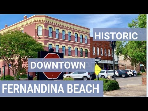DOWNTOWN FERNANDINA BEACH   AMELIA ISLAND #ameliaisland #historic