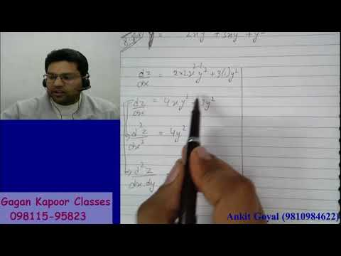 Partial Differentiation  second order partial differentiation & EULER'S THEOREM