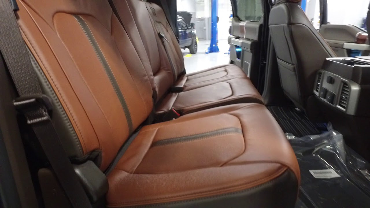 Ford Excursion Diesel 2018 >> 2018 F 250 King Ranch Interior - YouTube
