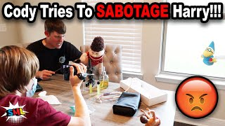 Cody Tries To SABOTAGE Harry!!! *BTS*