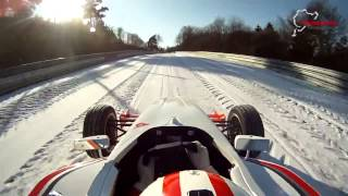 Single seater driven around Nurburgring Nordschleife in the snow! thumbnail