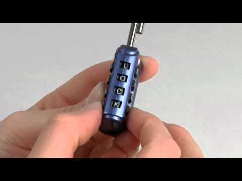 Master lock forgot combination
