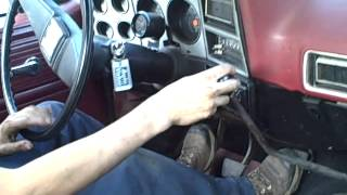 Shifting the 4 speed