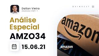 Análise Especial | BDRs da Amazon (AMZO34) - Acumulando para romper o retângulo?