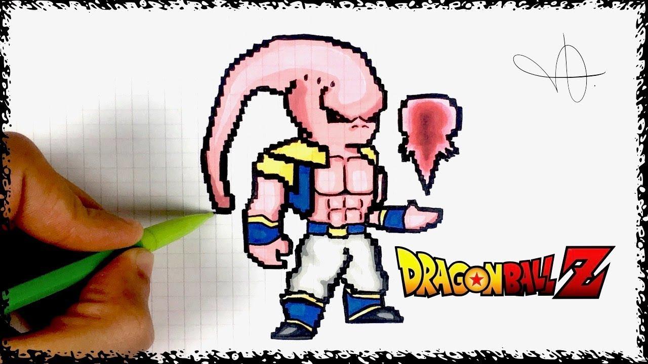Draw Buu Pixel Art
