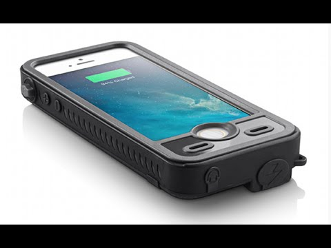 iBattz Mojo Refuel Aqua S Waterproof Battery iPhone 5/5S Case