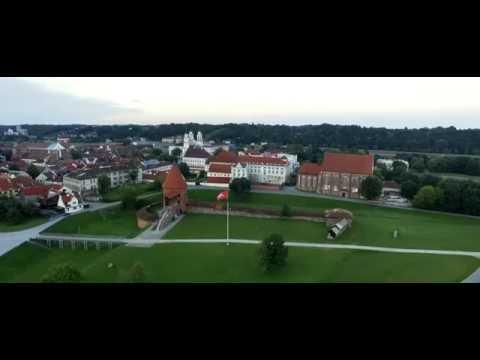 Kaunas 4K - From Dawn to Dusk