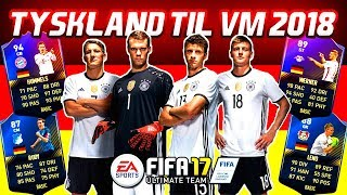 TYSKLAND TIL VM 2018!! - FIFA 17 Ultimate Team (DANSK)