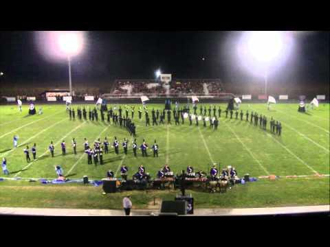 Middletown High School Marching Band @ Logan Elm 2014