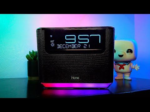 EPIC Amazon Alexa Clock - iHome iAVS16