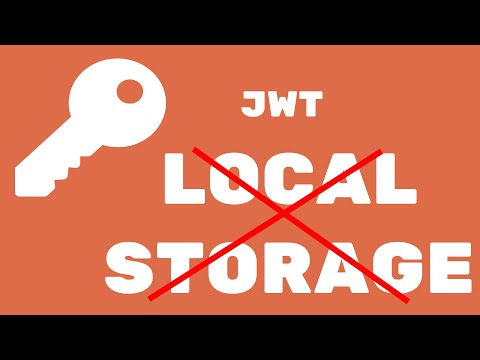 The Ultimate guide to JWT client side authentication (Stop Using Local Storage !!!)