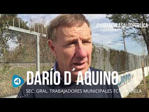 Hospital El Cruce: Darío D´Aquino sumó su apoyo al abrazo solidario en defensa de la salud pública