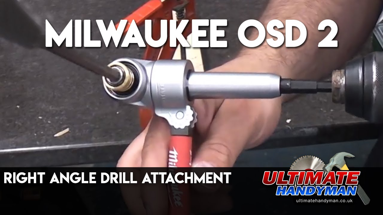 Milwaukee Osd 2 Right Angle Drill Attachment Youtube