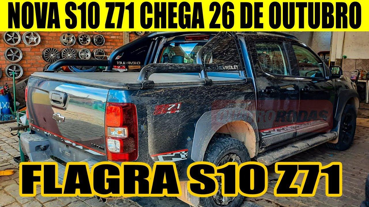 NOVA CHEVROLET S10 Z71 2022 - PREÇO E DATA DE LANÇAMENTO