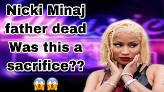 Nicki Minaj father dead! Hit and run!/ Was Nicki father soul snatched for his daughter?🤔🤭#nickiminaj