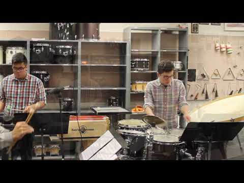 Canticle No.3 (1941) By Lou Harrison | JMU Percussion