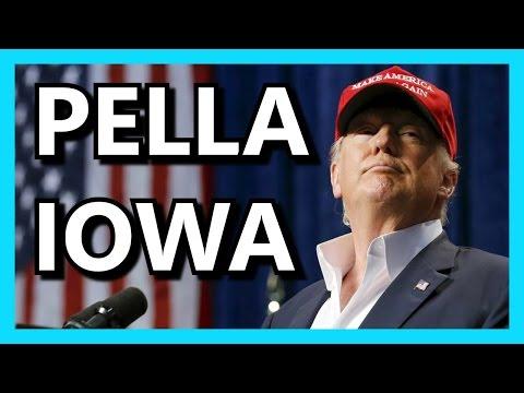 Donald Trump Central College Pella Iowa FULL SPEECH HD January 23 2016 ✔