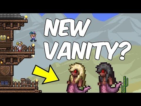 Terraria 1.3.3 SNAKE COSTUME?! | New Vanity! Update Spoilers | Terraria News