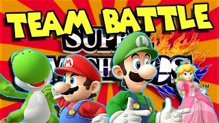 """THE BROTHERS HAVE JOINED FORCES!!!"" - [Super Smash Bros Wii U] - Team battle Round 1"