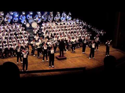 Ohio University Marching 110 -  Bohemian Rhapsody - Ohio Theatre 2013