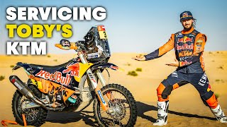 Dakar 2021 Motorcycle Service: Refreshing Toby Price's KTM 450 Rally