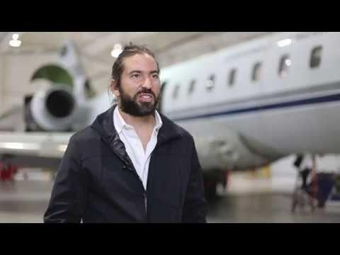 Global Express Refurbishment at Stevens Aviation